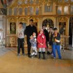 la manastirea Chiajna cu VI B 008