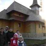 la manastirea Chiajna cu VI B 010
